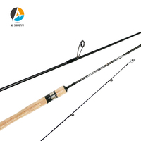 Protable Spinning Fishing Rod 2 Sections UL Power Lure Rod Lure Wt:2 10g Casting Rod Canne Spinnng Leurre Pole Travel Tackle