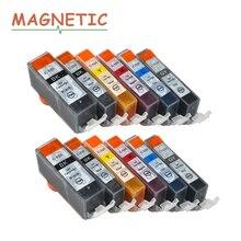12 шт. магнитные совместимые полные картриджи для canon PGI525 CLI526 PIXMA MG6150 MG6250 MG8150 MG8250 принтер pgi 525 CLI 526
