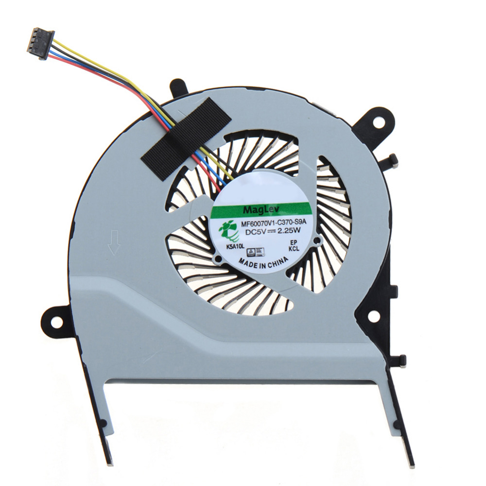 Laptops Replacements Accessories Cpu Cooling Fans Fit For ASUS X455LD X455CC A455 A455L K455 X555 A555L K555 Seires VCY74 4 wires laptops replacements cpu cooling fan computer components fans cooler fit for hp cq42 g4 g6 series laptops p20
