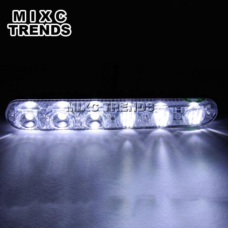 Drita më e re LED 2x6 LED Ndriçoni në ujë të papërshkueshëm - Dritat e makinave - Foto 2