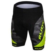 Rudy бренд муки желтый Pro велосипедные шорты мужские 3D противоскользящие гелевые велосипедные шорты для горного велосипеда