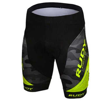 Rudy Brand Flour Yellow Pro Cycling Shorts Men 3D Anti Slip Padded Gel Cycling MTB Bike Shorts Mountain Bicycle Short Pants - DISCOUNT ITEM  31% OFF All Category