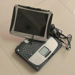 Najwyżej oceniane samochód diagnostyczny laptop dla panasonic toughbook cf-19 z ekranem dotykowym mecz dla mb gwiazda c4 i icom a2 b c