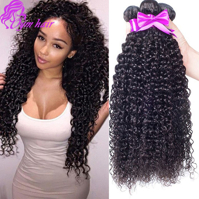 10A Brazilian Curly Virgin Hair 3 Pcs Unprocessed brazilian deep curly virgin hair 8 - 28 inch best Brazilian Hair Weave Bundles
