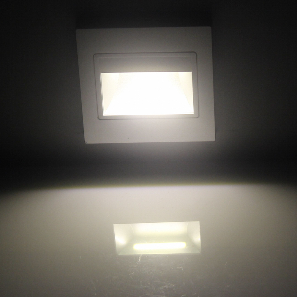 1.5W Led Stairs Light Foot Lamp Warm/Cool White Color  Bar/KTV/restroom/bathroom/bedroom Energy Saving Indoor Night Lighting In  Wall Lamps From Lights ...