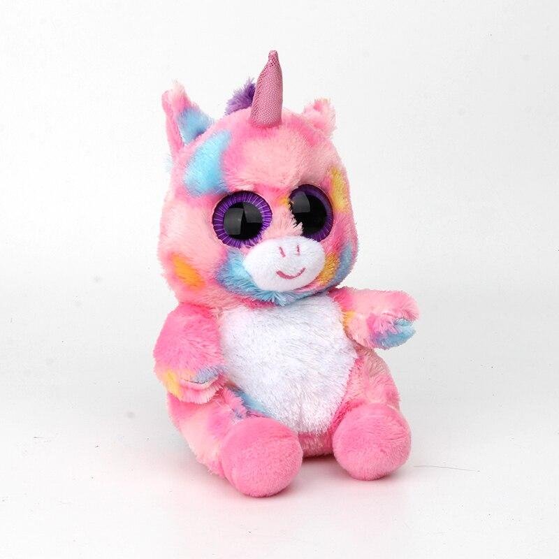 17cm ty beanie boos big eyes cute bat plush stuffed animals soft black boo  bat ty acc1398102c0