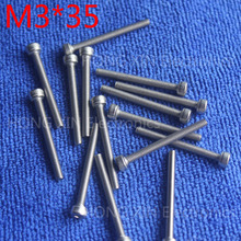 M3*35 1pcs Cylinder head inner hexagon screw 304 Stainless steel 35mm screw socket head screws inner hexagonal head bolt