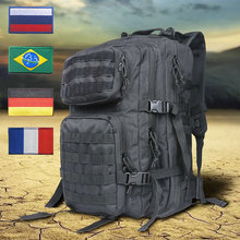 40L Military Tactical Backpack Molle Army Bag Men Waterproof 1000D Backpacks Rucksack  For Outdoor Sports Camping Hiking Hunting outdoor sport hiking bag men army military tactical molle rucksack women backpack shoulder messenger fishing hunting trekkin
