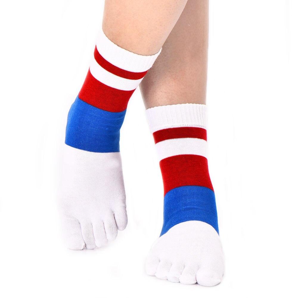 5 Pair Of Socks Five toes socks Men Medium Tubes socks