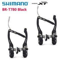 Shimano Deore XT BR T780 оригинальная коробка V Тормозной суппорт горный велосипед Алюминиевый v-тормозной велосипед запчасти Аутентичные велосипедный маховик части