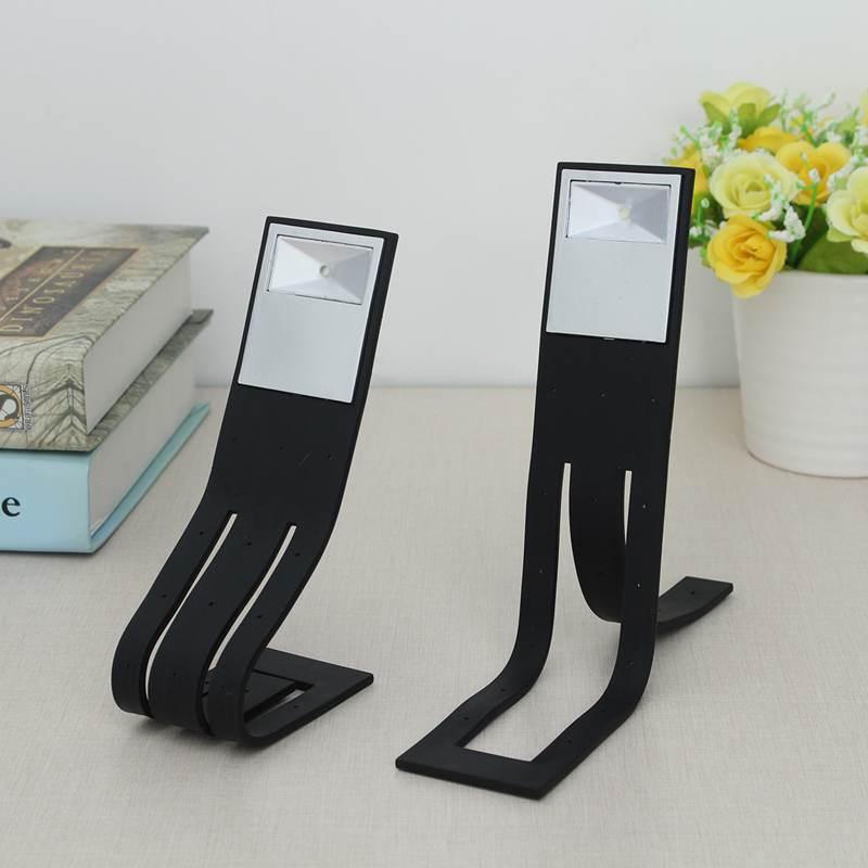 Flexible Bright White Clip On LED Book Light Desk Reading Book Lamp Booklight Night Light Lamp Travel Flashlight