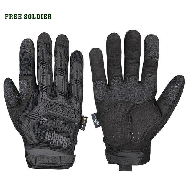 FREE SOLDIER Мужские тактичекие износостойкие и противоскользящие альпинистские перчатки для поездок Особенный нейлон