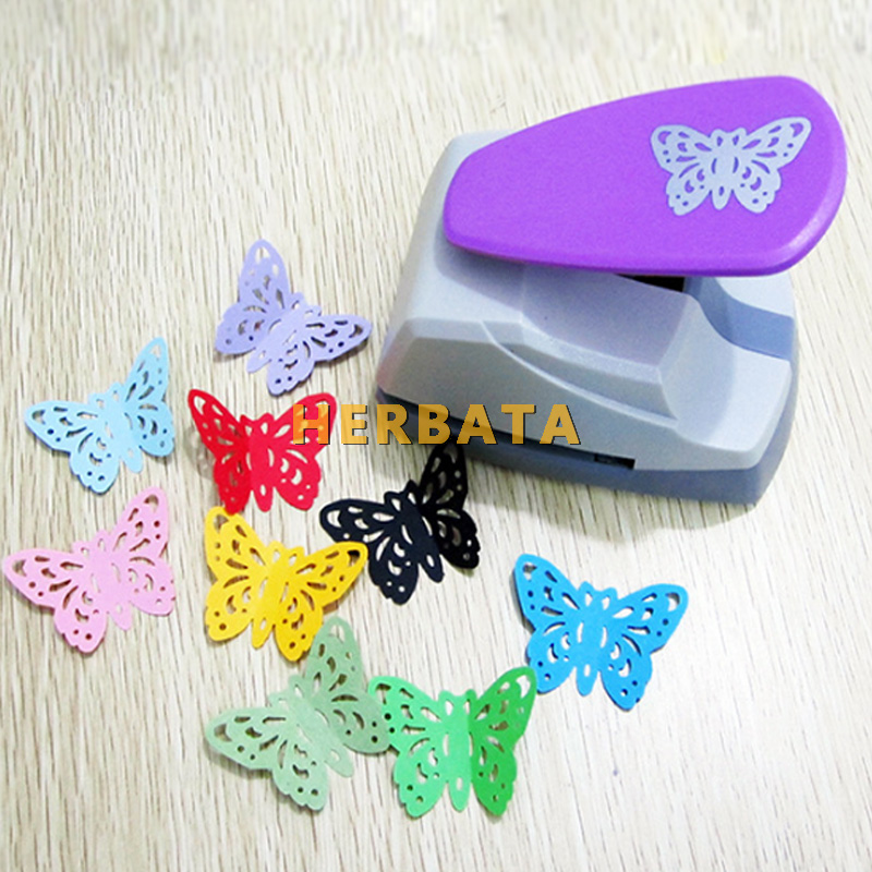 Image 2 - Free Shipping 4.7cm Butterfly 3D Shape Board Punch Paper Cutter For Greeting Card Scrapbooking Machine Handmade Hole PuncherHole Punch   -