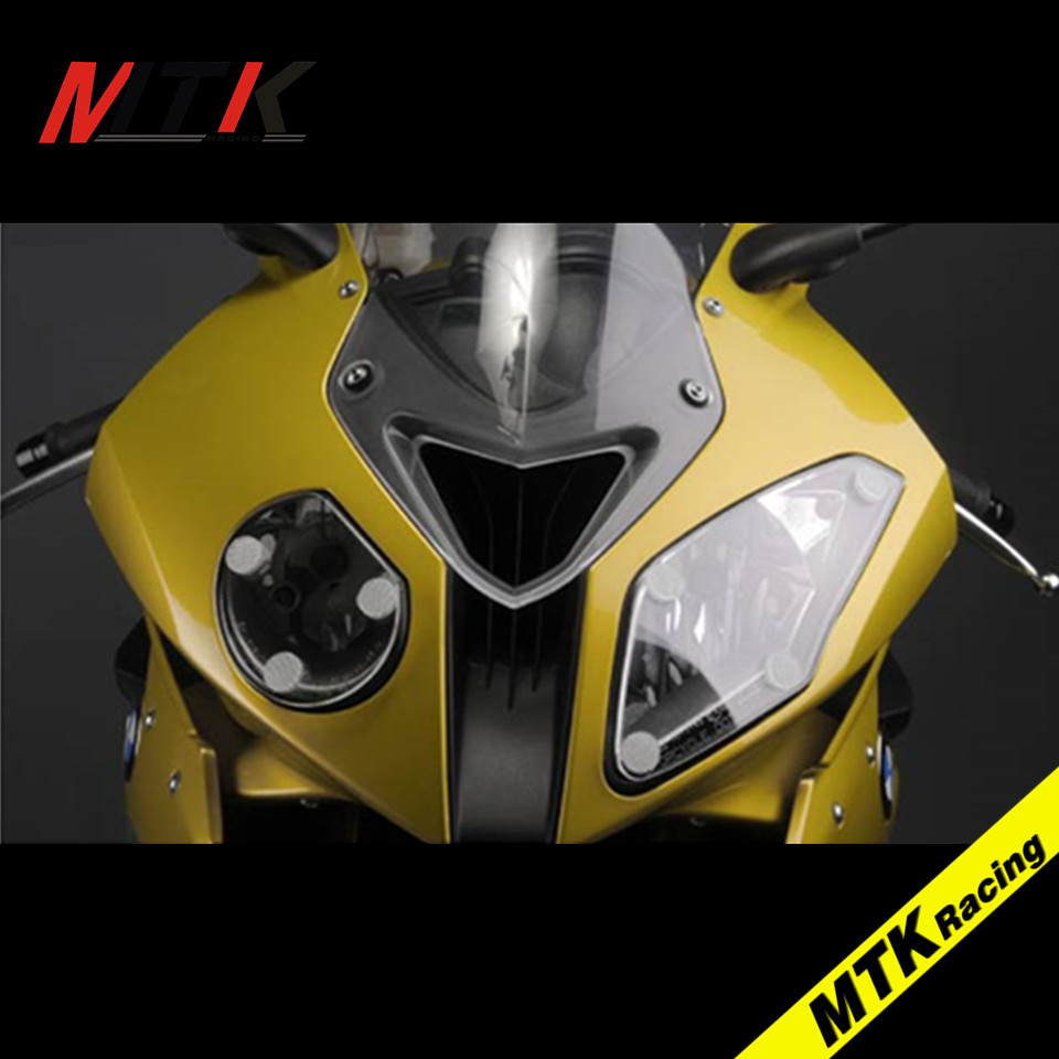 MTKRACING For BMW Motorbikes ABS Headlight Protector Cover Screen Lens For BMW S1000RR S1000 RR 2015-2016 mtkracing for kymco ak550 motorcycle parts headlight protector cover screen lens ak 550 2017 2018