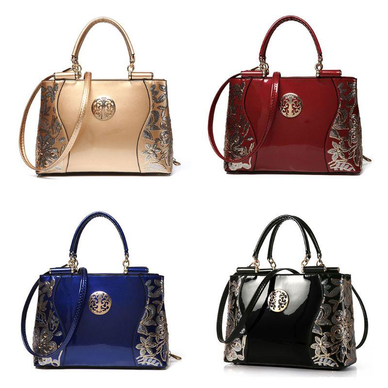 PU Retro Vintage Leather Women's Shoulder Bags Purse Boho Handbag Crossbody Totes Bag Satchel