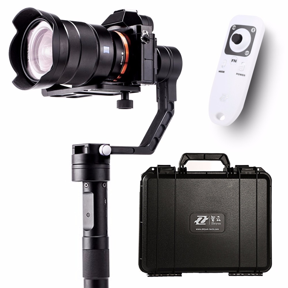 Zhiyun Crane 3 axis Handheld Stabilizer Gimbal for DSLR Canon Cameras Support 1.2KG PK Beholder DS1 MS1 F18164-A