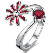0 Silver plated ring, silver fashion jewelry ring For Women&Men , /MPCZEARS EYAMTWIR(China)