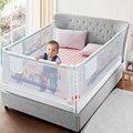 Baby Bed Hek Thuis Kinderen kinderbox Veiligheid Gate Producten kind Zorg Barrière voor bedden Wieg Rails Beveiliging Hekwerk Kinderen Vangrail