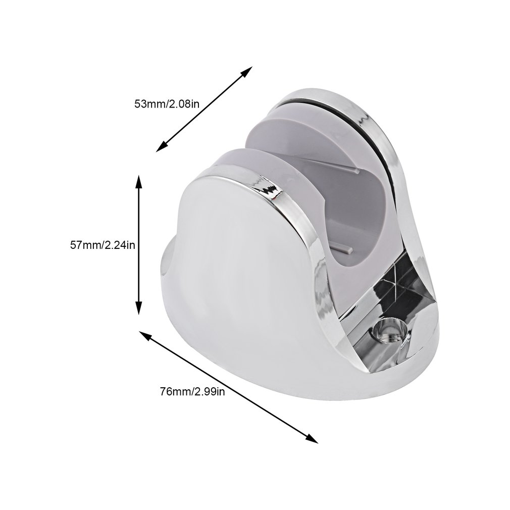 Handheld Shower Spray Head Holder Bracket Bathroom Wall Mount Adjustable HUG-Deals