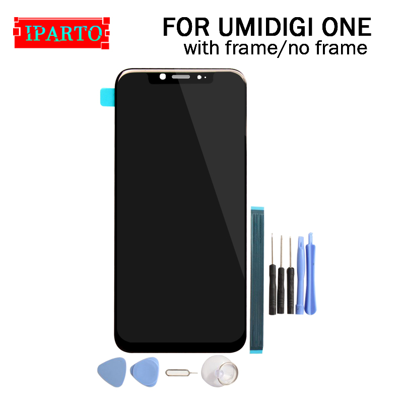 5 9 inch UMIDIGI ONE LCD Display Touch Screen Digitizer Assembly 100 Original New LCD Touch