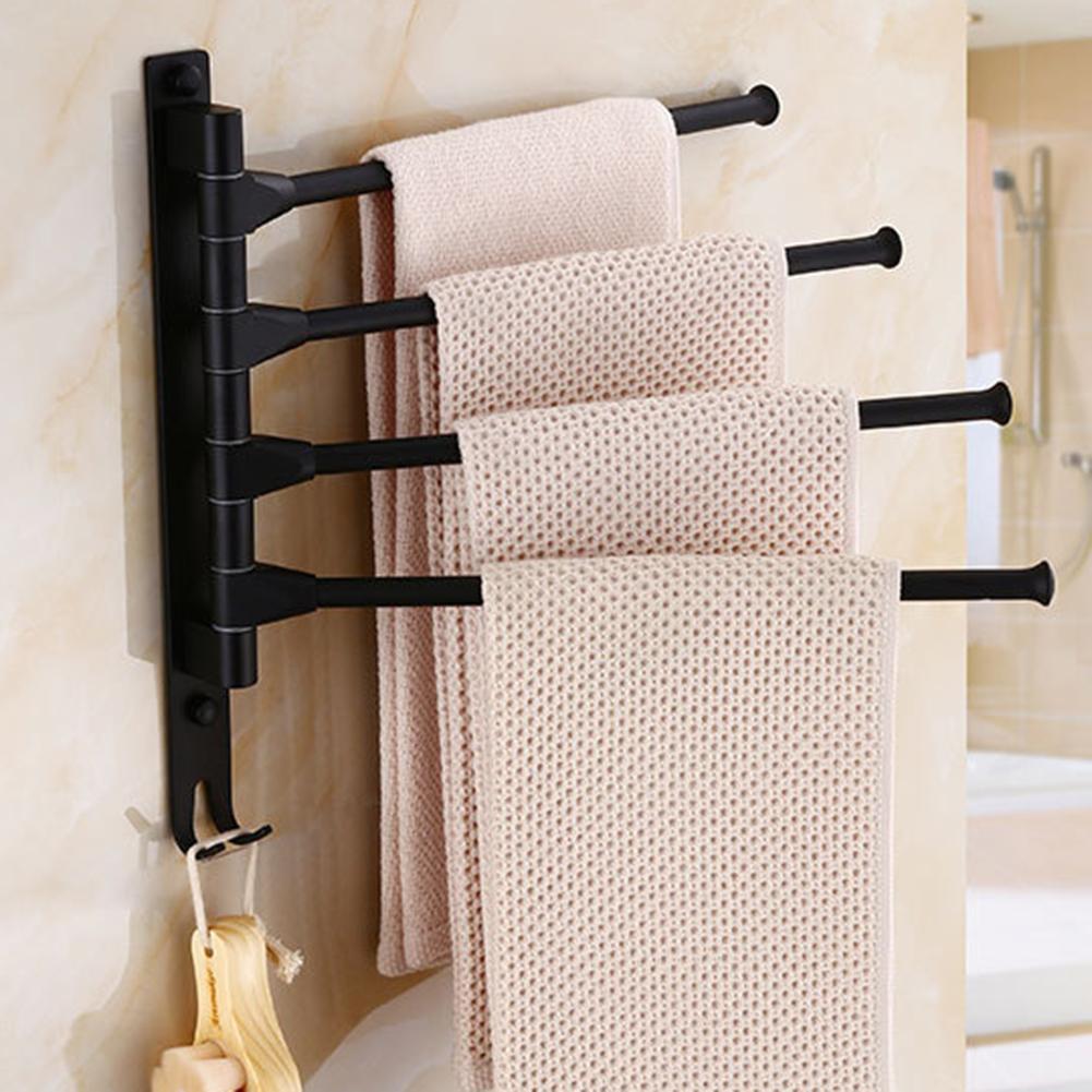 Wall Mounted Hotel Bathroom Towel Rack