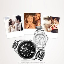 CARNIVAL Fashion Pearl ceramics Couple watch High end automatic Watch