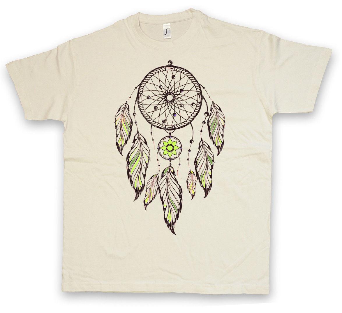 DREAMCATCHER III T-SHIRT - Apache dream catcher asabikeshiinh Native