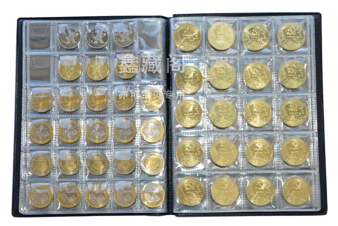 2017 New Coin Al 10 Pages Fit 250 Units Collection Book Holders Storage Money 6 Color In Photo Als From Home Garden On