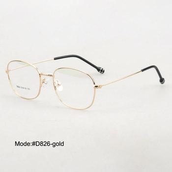 8cf750423d Gafas Vintage de Metal SPITOIKO para hombre gafas de prescripción miopía  gafas D826