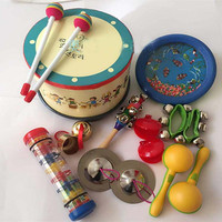 Kingtoy Educational Baby Toy Musical Toy kits Infant music toy chindren Wood Musical Toy 9pcs/Set