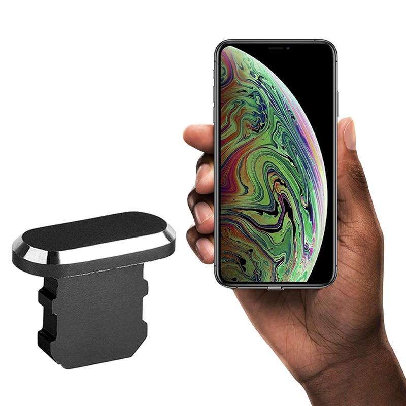Металлическая Пылезащитная заглушка для Iphone 12 11 Max Pro XR XS X 8 7 5S 6 6s Plus 5 SE аксессуары для телефонов гаджеты универсальные