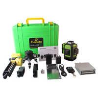 New Fukuda Professional 16 Line 4D laser level 12 Line 3D green Beam 360 Vertical And Horizontal Self-leveling Cross for outdoor