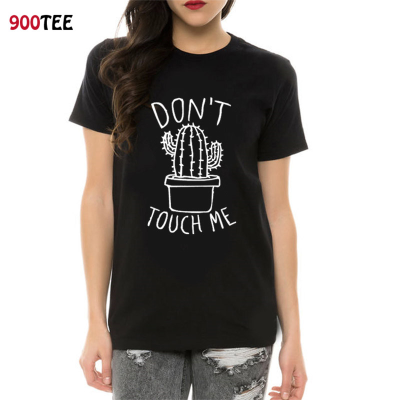 70fc361b1 Fashion Women T Shirt Cotton Do Not Touch Me Printed Funny Clothes Short  Sleeve Casual Summer