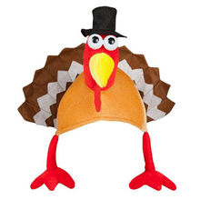 (Ship from US) Funny Turkey Hats Happy Thanksgiving Party Decoration Caps  dropship  N05 6ce8e448aace