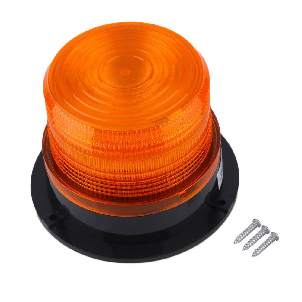 DC12V High power car Magnetic Mounted Vehicle Police Warning light LED flashing beacon/Strobe Emergency lighting lamp dc12v 24v 5730smd 72 led car truck strobe flashing emergency light beacon rescue vehicle ambulance police warning lights lamp