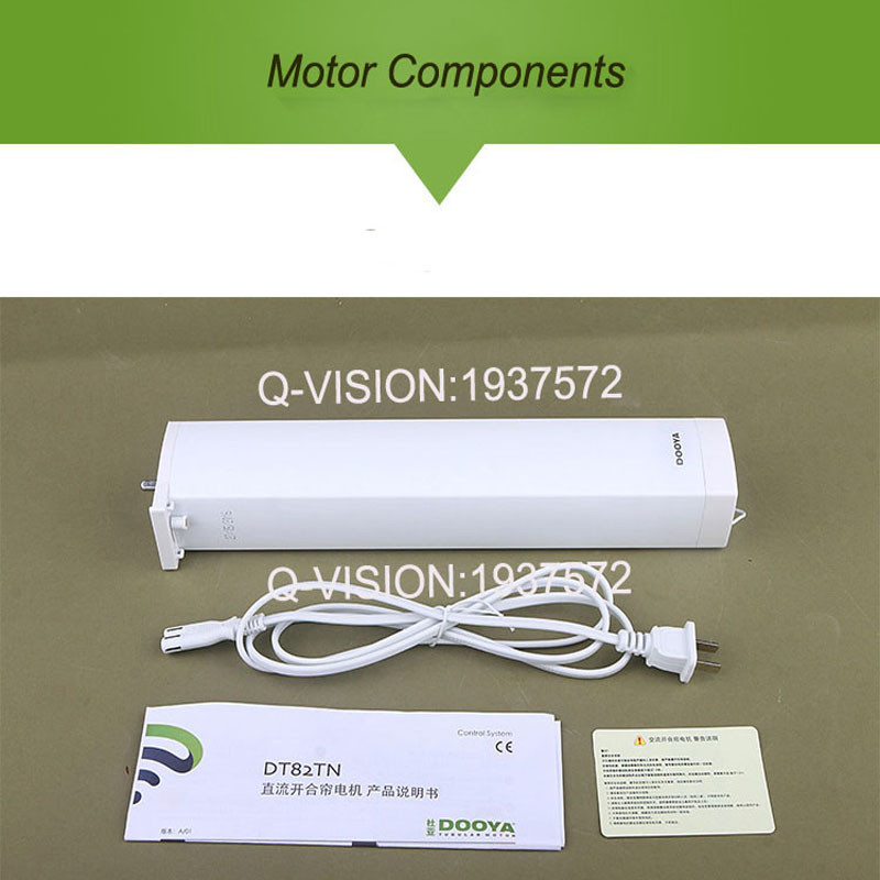 Original Dooya DT82TN Electric Curtain DC Motor+DC2700 Remote Controller,Automatic Electric Curtain Motor 110-240V Smart Home-3