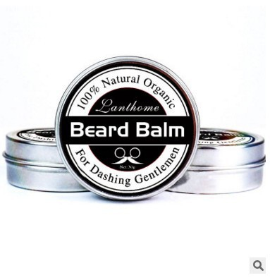 Lanthome 30g Beard Balm Conditioner Professional For Beard Growth Organic Mustache Wax Moisturizing Smoothing Beard Smooth