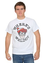 T Shirt Making WhereS Waldo Face MenS Crew Neck Short Sleeve Fashion 2018 Tees