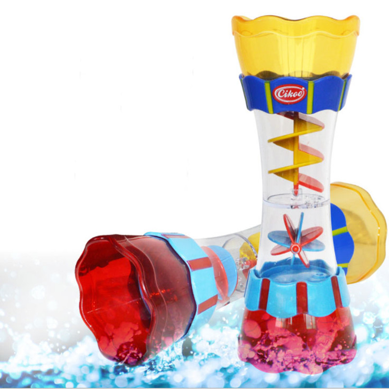 Baby Bath Toys Kaleidoscope Playing in Water Whirly Wand Cup Swim Play Water Beach Toys Summer Kids Toy