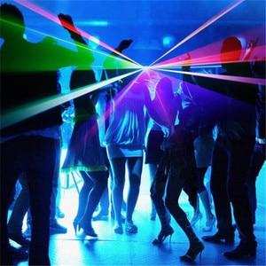 Image 5 - الغريبة عن 3D RGB 400mW DMX 512 ماسحة ضوئية بالليزر العارض المرحلة الإضاءة تأثير حزب عيد الميلاد DJ ديسكو تظهر أضواء كامل اللون ضوء