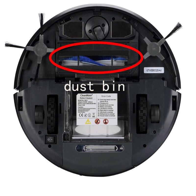 1 шт. Запчасти для пылесоса оригинальная роликовая щетка подходит для CleanMate QQ6 Роботизированный пылесос