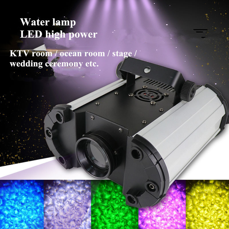 DMX Water Light 100W 150W Disco DJ Party Lights Christmas Projector Stage Shows Waterwave High Power LED Effects