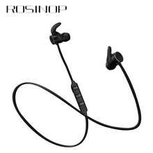 Rosinop Magnetic Earphone Sport Wireless Bluetooth 5.0 Noise Canceling Earbuds Handsfree Earpiece auriculares