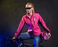 Tasdan Women Cycling Jacket Vest Women Winter Wind Water Proof with Zipper Off Jacket Vest Detachable Cycling Clothings