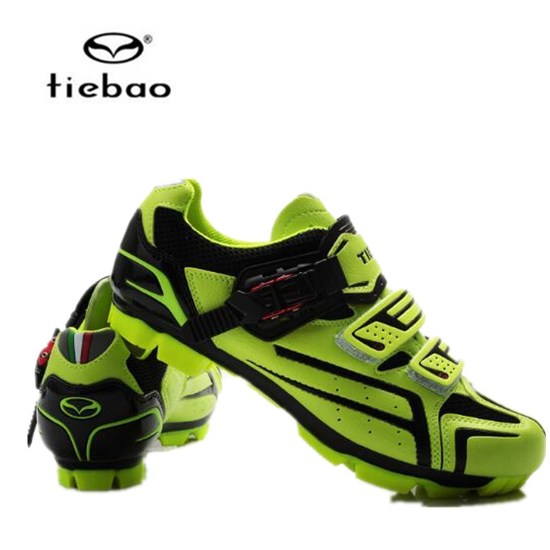 TIEBAO Breathable MTB Cycling Shoes men 2017 Adjustable Road Bike Shoes for Mountain Bike Racing MTB Bike Shoes Size EUR 40-47