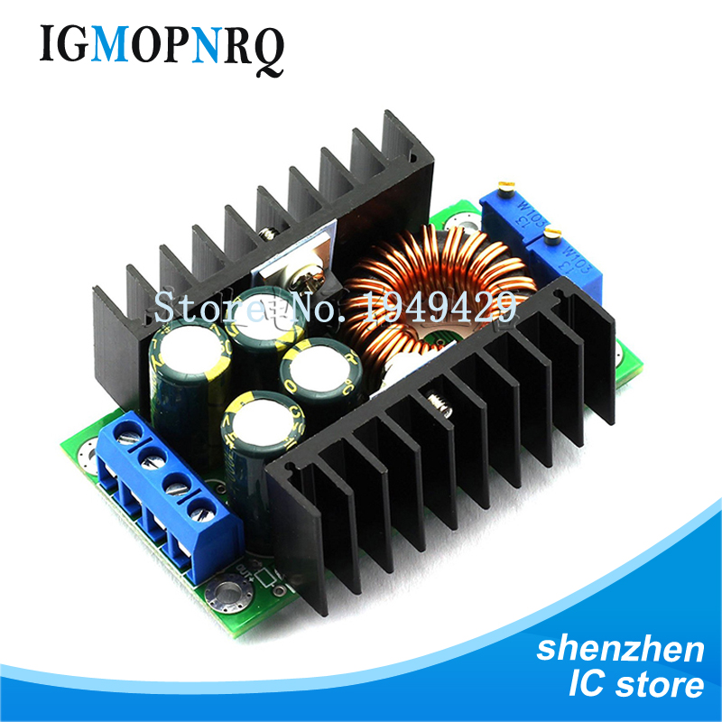 <font><b>DC</b></font> CC Max 9A <font><b>300W</b></font> Step Down Buck Converter 5-40V To 1.2-35V Power Supply Module XL4016 LED Driver Low Output Ripple image