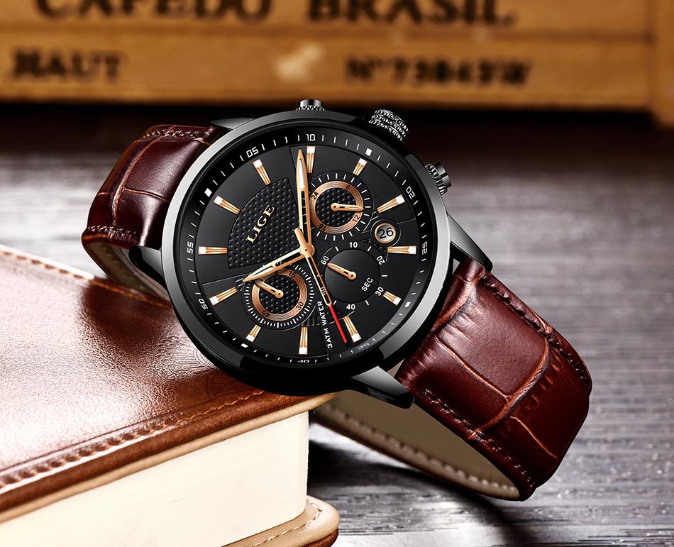 Reloj LIGE deportivo de moda 11