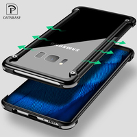 X Shape Ring Bracket Case For Samsung S8 Luxury Personality Shell For Samsung Galaxy S8 Plus
