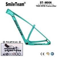 Smileteam 29er MTB Full Carbon Frame T800 Carbon MTB Bicycle Frame Bike Carbon 29er 27 5er