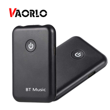 VAORLO 2 IN 1 Bluetooth Receiver Transmitter For TV 4.0 Stereo Music Receivers Ricevitore Audio Wireless Adapter 3.5mm Audio
